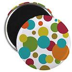 Retro Dots Magnet