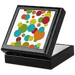 Retro Dots Keepsake Box