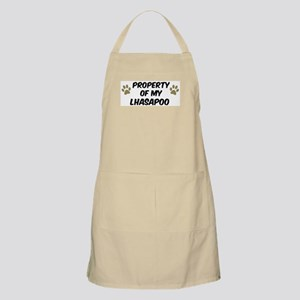 Lhasapoo: Property of BBQ Apron