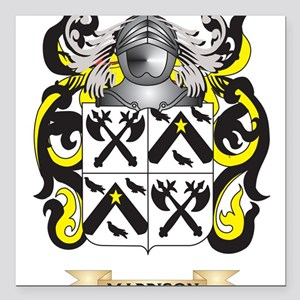 Maddison Coat of Arms - Family Crest Square Car Ma