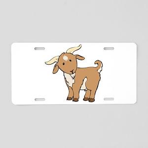 Cartoon Billy Goat Aluminum License Plate