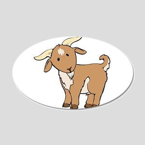 Cartoon Billy Goat Wall Decal