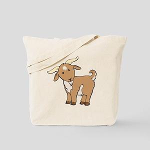 Cartoon Billy Goat Tote Bag