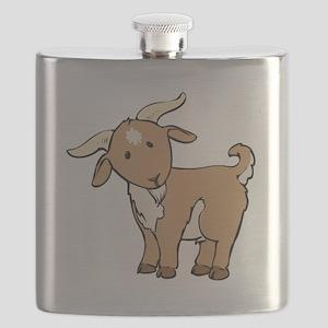 Cartoon Billy Goat Flask