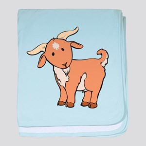 Cartoon Billy Goat baby blanket