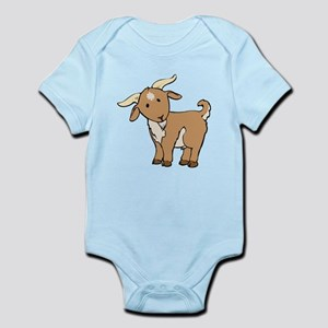 164d4eb5361 Cartoon Goat Baby Clothes   Accessories - CafePress