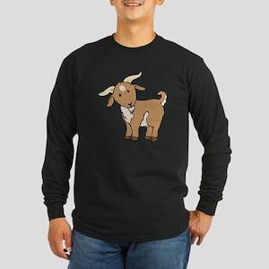Cartoon Billy Goat Long Sleeve T-Shirt