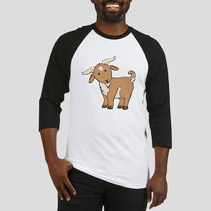 Cartoon Billy Goat Baseball Jersey