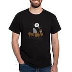 Fear Me Wiener Dog Dark T-Shirt