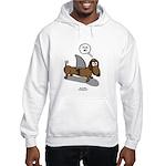Fear Me Wiener Dog Hooded Sweatshirt