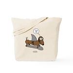 Fear Me Wiener Dog Tote Bag