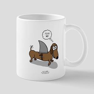 Fear Me Wiener Dog Mug