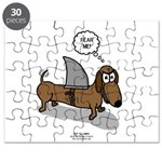 Fear Me Wiener Dog Puzzle
