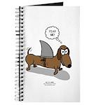 Fear Me Wiener Dog Journal