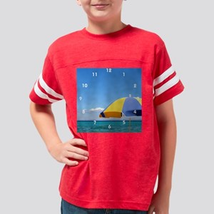 Greeceseaclock Youth Football Shirt
