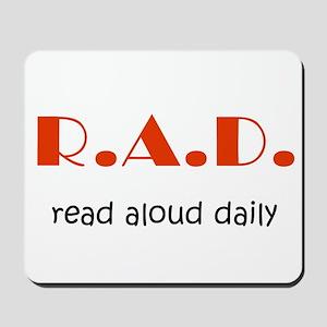 Read Aloud Daily Mousepad