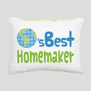 Earths Best Homemaker Rectangular Canvas Pillow