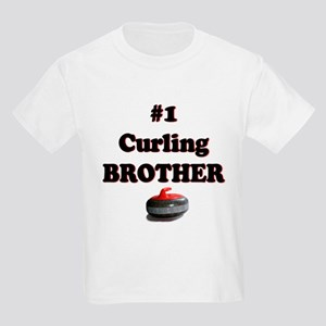 #1 Curling Brother Kids T-Shirt