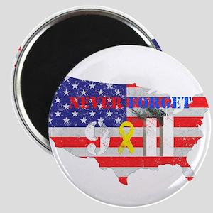 Never Forget 9-11 Magnet