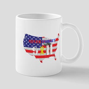 Never Forget 9-11 Mug