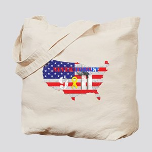 Never Forget 9-11 Tote Bag