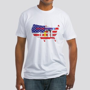 Never Forget 9-11 Fitted T-Shirt