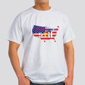 Never Forget 9-11 Light T-Shirt