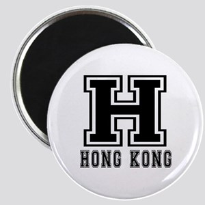 Hong Kong Designs Magnet