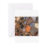 Glass Beads Greeting Cards (Pk of 10)
