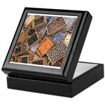 Glass Beads Keepsake Box