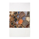 Glass Beads 3'x5' Area Rug