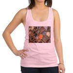 Glass Beads Racerback Tank Top