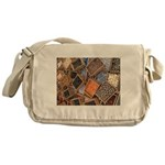 Glass Beads Messenger Bag