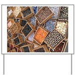 Glass Beads Yard Sign