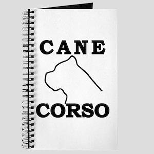 Cane Corso Logo Black Journal