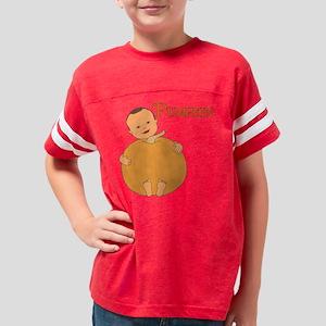Pumpkin Med Skin Youth Football Shirt