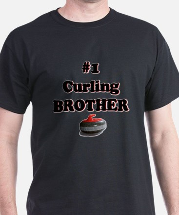 #1 Curling Brother T-Shirt