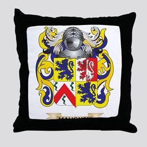 Mahoney Coat of Arms - Family Crest Throw Pillow