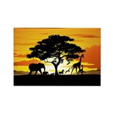 African animals Magnets