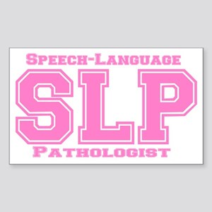 SLP (Pink) Rectangle Sticker