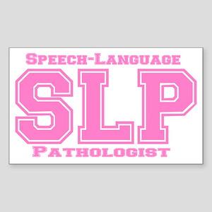 SLP (Pink) Rectangle Sticker