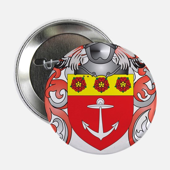 """Major Coat of Arms - Family Crest 2.25"""" Button"""