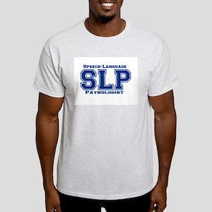 SLP (Blue) Ash Grey T-Shirt