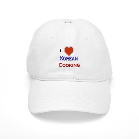 I Love Korean Cooking Cap