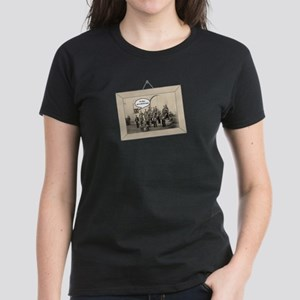 We're With The Band Women's Dark T-Shirt