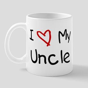 I Love My Uncle Mug