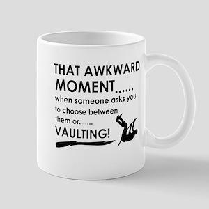 Awkward moment vaulting designs Mug