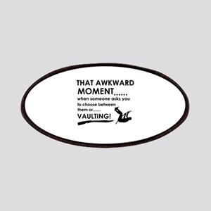 Awkward moment vaulting designs Patches