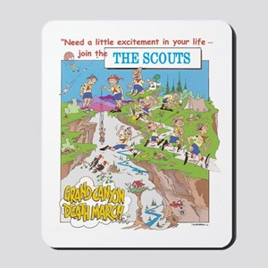 THE SCOUTS Mousepad
