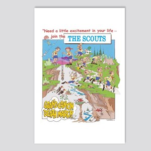 THE SCOUTS Postcards (Package of 8)